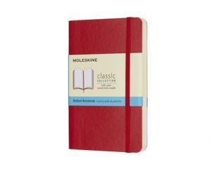 Moleskine Moleskine Dotted Classic Notebook Pocket - Röd - Kalenderkungen.se