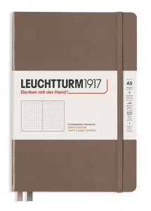 Leuchtturm Notebook A5 hard 249s Warm Earth dotted