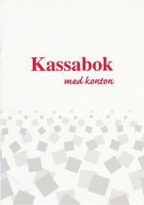 Burde Förlag Kassabok med konton - A5 - 148x210mm - Kalenderkungen.se