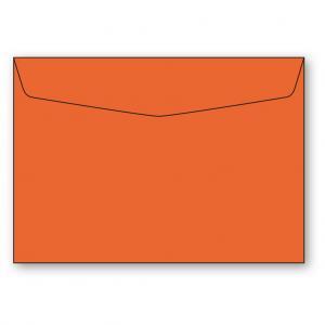 C6 Kuvert 5-pack 110g Orange