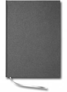 Paperstyle Linjerad Notebook A4 192 sidor Anthracite - Kalenderkungen.se