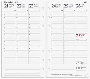 Regent kalendersats Interplano XL 2022