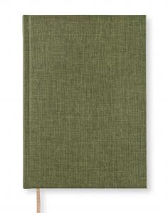 Paperstyle Olinjerad Blank Book A5 - 128 sidor Khaki Green - Kalenderkungen.se
