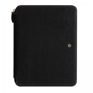 Chester A5 Zip Folio Black