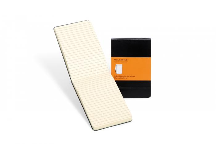 Moleskine Reporter Notebook Pocket Hard Cover - Svart - Linjerad