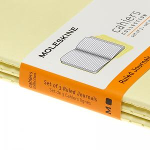 Moleskine Cahier Journal Pocket Ruled Yellow