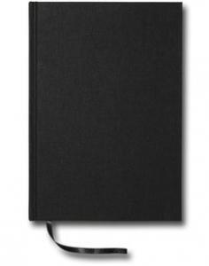 Paperstyle Notebook A5 dotted Textil svart - Kalenderkungen.se