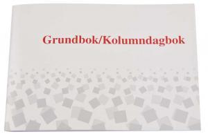 Burde Förlag Grundagbok/kolumndagbok - A4 - 297x210mm - Kalenderkungen.se