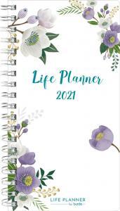 Life Planner slim Flower 2021