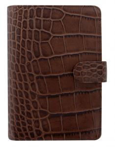 Filofax Filofax Classic Personal Croc Chestnut - Kalenderkungen.se