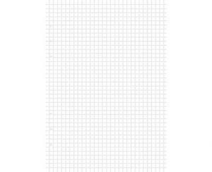 Refill A5 Clipbook rutade blad