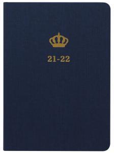Kalender Letts A6 Charms blue studieåret 2021-2022
