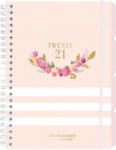 Life Planner Pink Randing week A5 2021