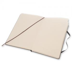 Moleskine Dotted Classic Notebook Large - Svart