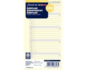 Årsplan Filofax personal 2022