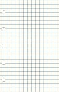 Filofax Extrablad rutade till Filofax Notebook Pocket 32 blad 100g papper - Kalenderkungen.se