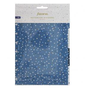 Filofax A5 Notebook avdelare Indigo