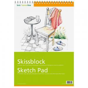 B.N.T Skissblock A3 30 blad - Kalenderkungen.se