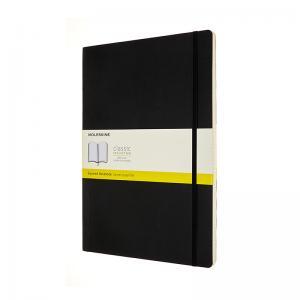 Moleskine Moleskine Classic Soft A4 Squared Notebook Black - Kalenderkungen.se