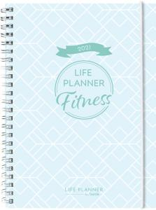 Life planner Fitness Diary 2021