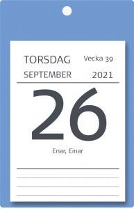 Väggplån med dagblock XL 2021