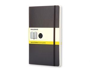 Moleskine Notebook Large Soft Cover - Svart - Rutad