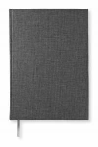 Paperstyle Olinjerad Blank Book A5 256 sidor Graphite - Kalenderkungen.se