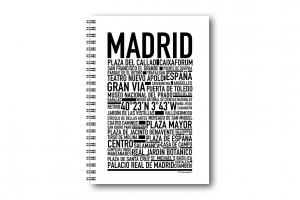 Anteckningsbok Madrid