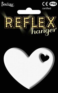 Reflex Heart Hanger White