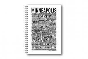 Gullers Anteckningsbok Minneapolis - Kalenderkungen.se