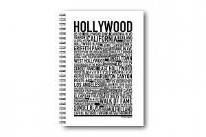 Anteckningsbok Hollywood