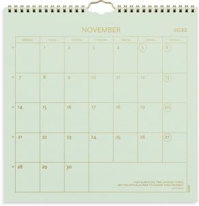 Väggkalender Color 2022