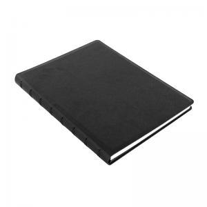 Filofax Saffiano A5 Notebook Black - Kalenderkungen.se