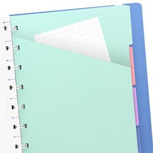 Filofax A5 Classic Notebook Linjerad Vista Blue