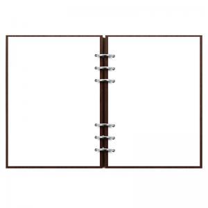 Clipbook Architexture A5 Notebook Rosewood