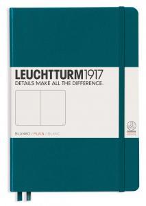 Leuchtturm1917 Leuchtturm Notebook A5 hard 249s Pacific Green olinjerad - Kalenderkungen.se