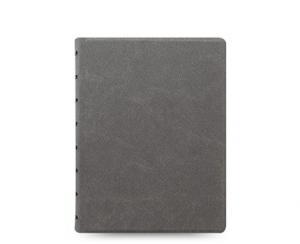 Filofax Notebook Concrete linjerad