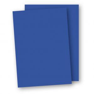 Kartong A4 5-pack 220g Klarblå