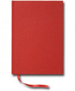 Paperstyle Olinjerad Blank Book A5 256 sidor Red - Kalenderkungen.se