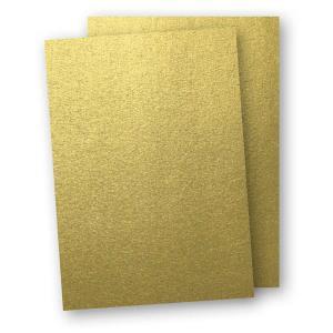 Kartong A4 5-pack 220g Guld