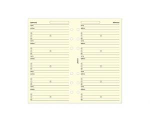 Filofax Filofax Personal Adresses beige 24-pack - Kalenderkungen.se