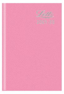 Kalender Letts Standard Mini Rosa studieåret 2021-2022