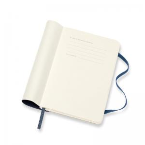 Moleskine Weekly Notebook Blue soft pocket 2022
