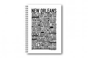 Anteckningsbok New Orleans
