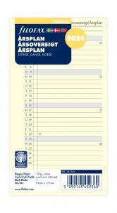 Filofax Årsplan personal 2024