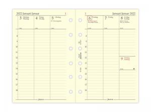 Filofax Dagbok Pocket vertikal 2022