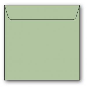 Kvadratiska Kuvert 5-pack 110g Ljusgrön