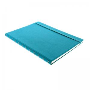 Filofax Notebook A4 linjerad Aqua