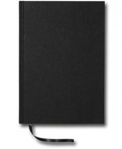 Paperstyle Linjerad Notebook A5 256 sidor Black - Kalenderkungen.se
