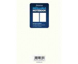 Filofax Extrablad dotted till Filofax Notebook A5 - Kalenderkungen.se